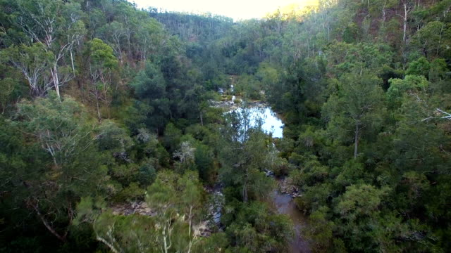 Drone footage of an Australian gorge/canyon video