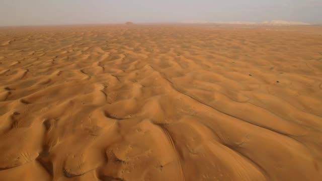 4K Drone Shot Of Dubai Desert video
