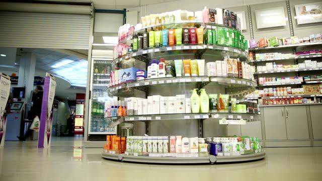 drugstore interior video
