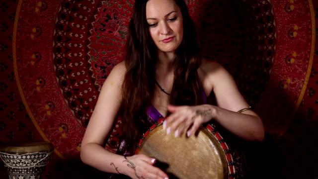 Drum improvisation video