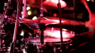 Drummer Taking Solo In Concert video