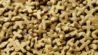 Dry food for cats and other pets. Rotates, studio shooting video