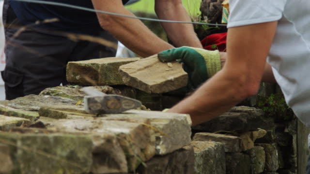 Dry Stone Wall Repairers video