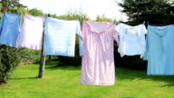 Drying Laundry video