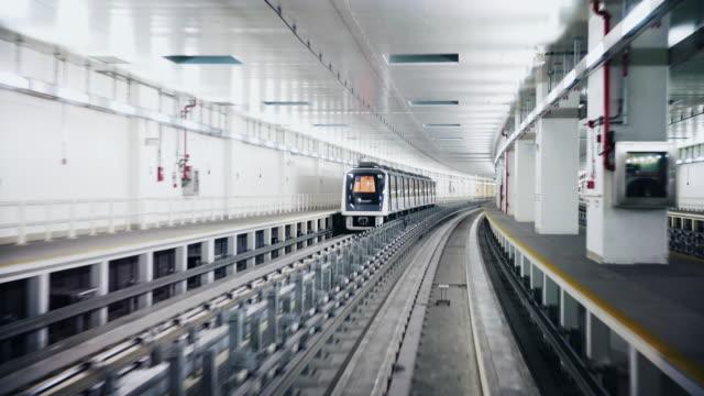 POV Dubai airport metro video