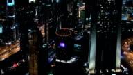 Dubai Cityscape Time Lapse Pan video