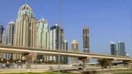 Dubai marina drive video