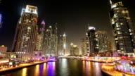 Dubai Marina Time Lapse video