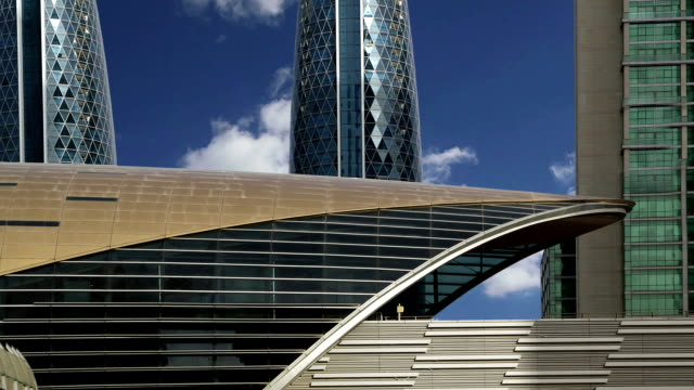 Dubai Metro, United Arab Emirates  (time lapse) video