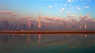 Dubai Skyline video