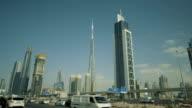 Dubai skyscrapers. video