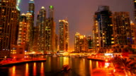 Dubai timelapse video