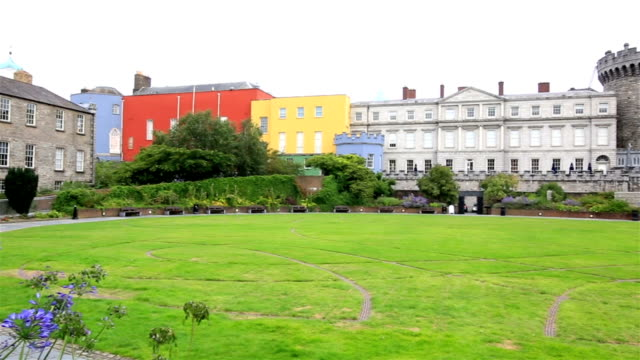 Dublin Castle, seen from the park video