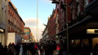 Dublin henry street and the spear video