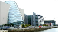 Dublin North Wall Quay And Convention Centre video