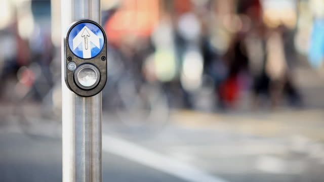 Dublin traffic lights button video