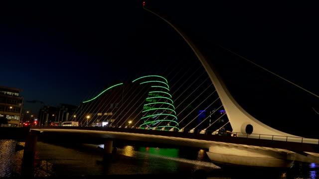 Dublin-Samuel Beckett Bridge video