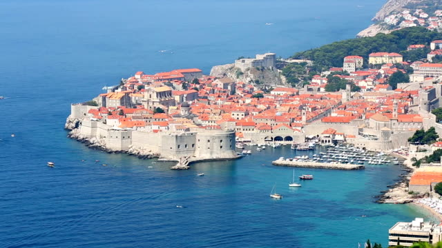 HD: Dubrovnik old town, Croatia video