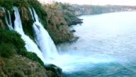 HD: Duden Waterfall - Antalya video