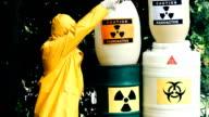 Dump of toxic substances video
