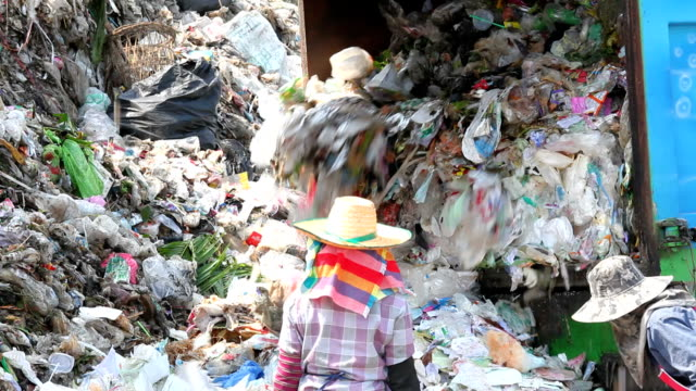 Dumping garbage video