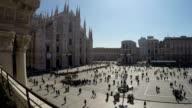 Duomo Cathedral, Milan Italy video