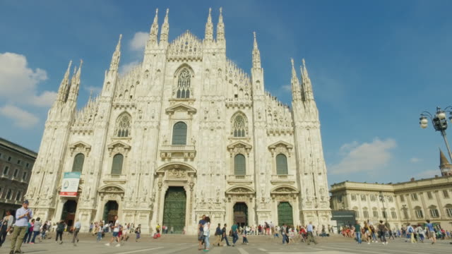 Duomo di Milano church, in Italy video