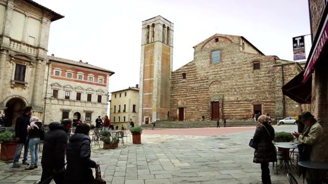 Duomo in Piazza Grande, Montepulciano video