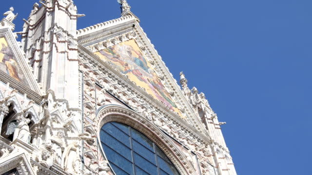 Duomo of Siena detail video