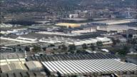 Durban Industrial  - Aerial View - KwaZulu-Natal,  South Africa video