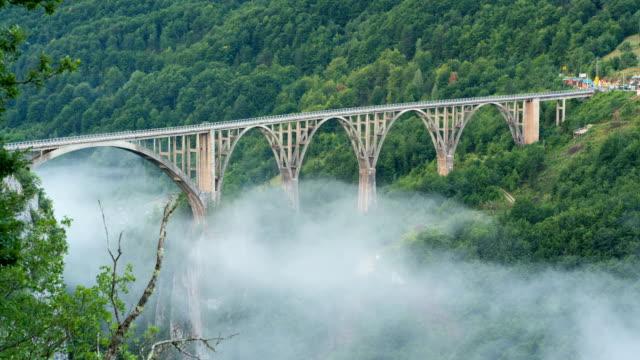 Durdevica Bridge over Tara Canyon video