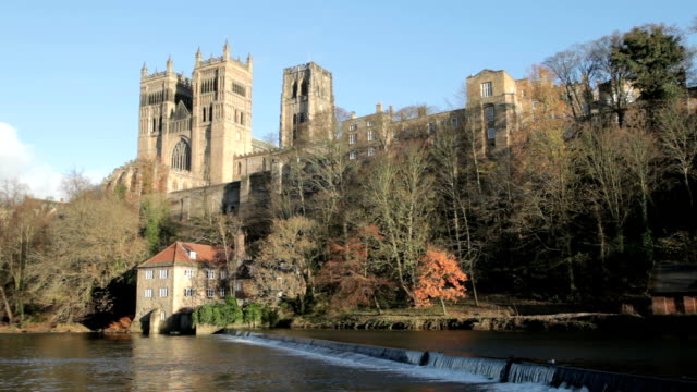 Durham Cathedral and the Old Fulling Mill video