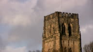 Durham cathedral south aspect pull back video