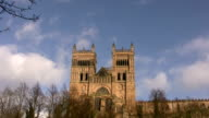 Durham cathedral west towers video