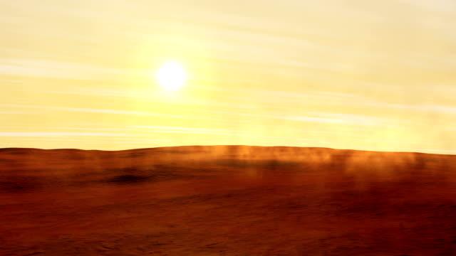 Dust Moves on Mars video