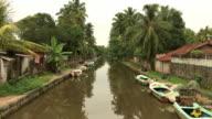 Dutch Canal, Negombo, Sri Lanka video