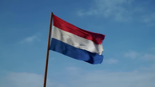 Dutch Flag in the Wind video
