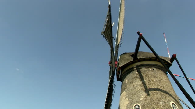 Dutch windmill video