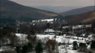 Dutton Ridge State Forest - Aerial View - New York,  Schoharie County,  United States video