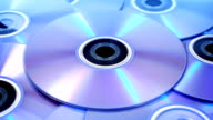 DVDs Rotating Closeup video