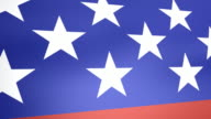 Dynamic American Flag video