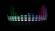 Dynamic music VU meters around the world. Seamless loop-able video