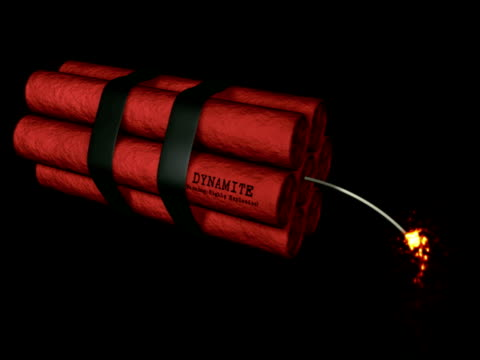 Dynamite Explosion NTSC. video
