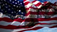 Eagle American Flag video