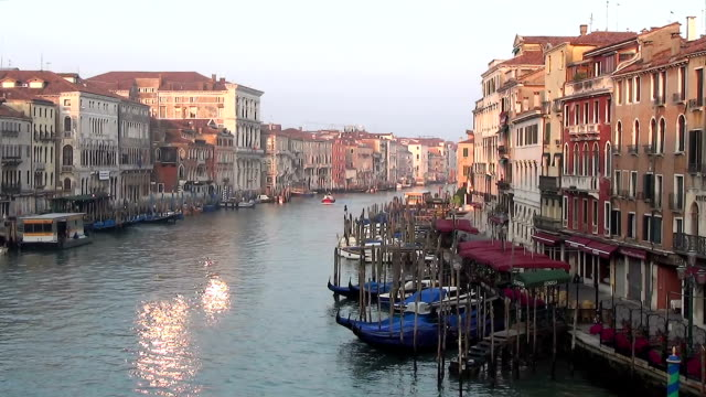Early morning in Venice, Italy video