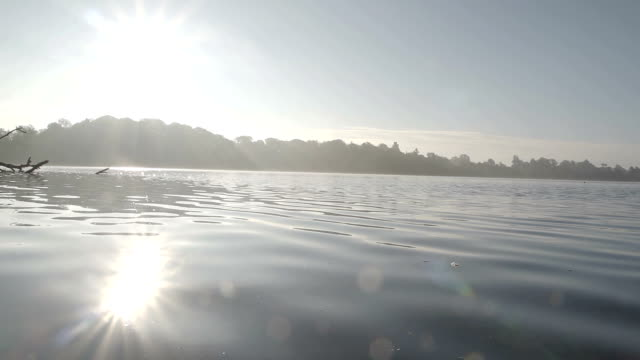 Early Morning Sunrise On A Pretty English Mere video