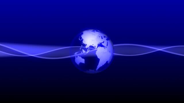 Earth 01 Blue BG video