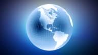 Earth Animation HD Seamless Loop video