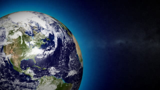 Earth Animation HD Seamless Loop video
