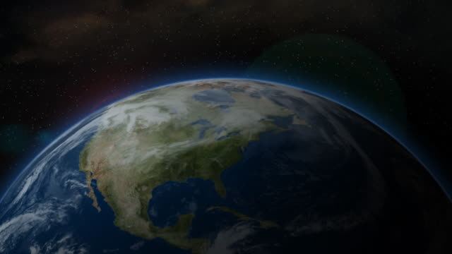 Earth from Space, North America video